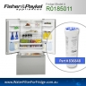 FISHER AND PAYKEL 836848 for ES22B GENUINE FRIDGE WATER FILTER
