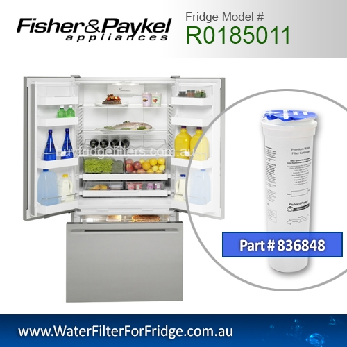 Fisher & Paykel 836848 for R0185011 Genuine Fridge Water Filter