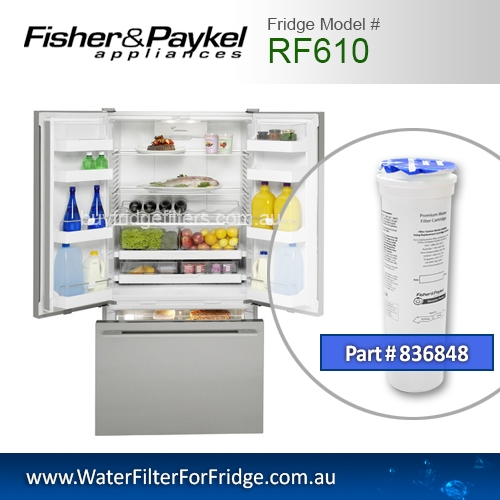 Fisher & Paykel 836848 for RF610 Genuine Fridge Water Filter