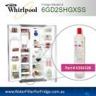Genuine Whirlpool AMANA Fridge Filter 4396508