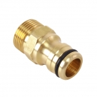"Solid Brass Sprinkler Tool Adaptor 20MM to 18MM (3/4"")"
