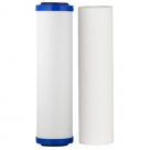 "Aquametix Cerametix Fluoride Ceramic OBE with Polyspun Sediment Cartridge 10""x2.5"""