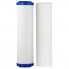 "Aquametix Cerametix Fluoride Ceramic OBE with Polyspun Sediment Cartridge 10""x2.5"""