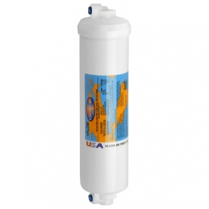 Omnipure K2540 SS GAC carbon filter push in connection RF-M6