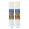 "Omnipure K2548 BB  Inline Calcite - 10"" Water Filter"