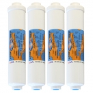 "4X Omnipure K2548 BB  Inline Calcite - 10"" Water Filter"