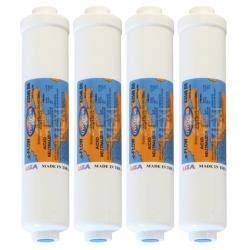 "4X Omnipure K2548 BB Inline Calcite - 10"" Water Filter"