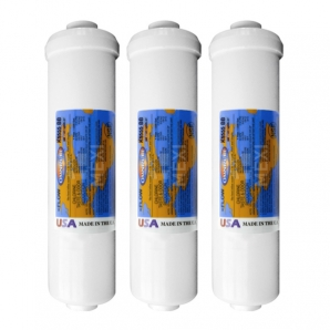 3X Omnipure K5555-BB DI Mixbed Water Filter Ion Exchange Mixed Resin