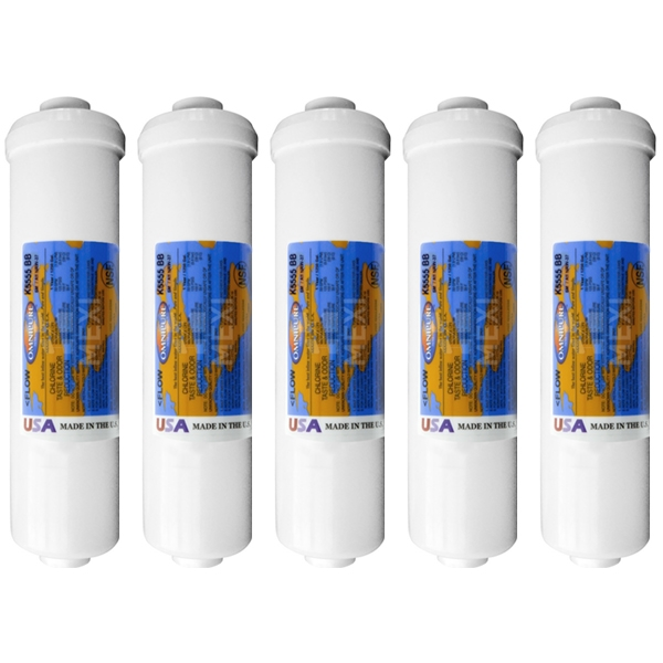 5X Omnipure K5555-BB DI Mixbed Water Filter Ion Exchange Mixed Resin