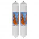 """2X Omnipure K-Series K5550 JJ Inline Water Filters GAC 10″ x 2.5"""""""