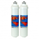 2X Omnipure L5520 Water filter 1 Micron Cyst Reduction