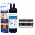 Whirpool Air Filter+W10295370 Set by Aqua Blue H20