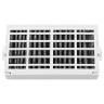 Whirpool Air Filter with 5X W10295370 Set by AQUA BLUE H2O