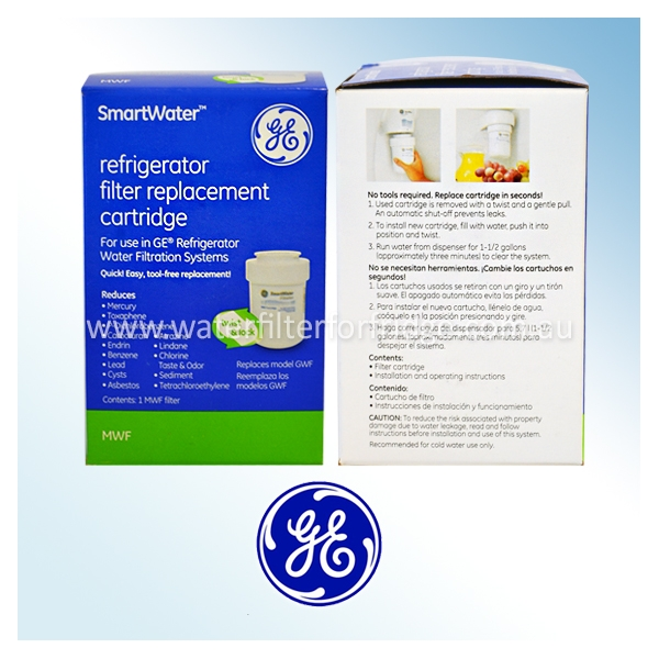 replacement filter for gce21xgyfls ge smartwater mswf water filter - Ge Smartwater Filter