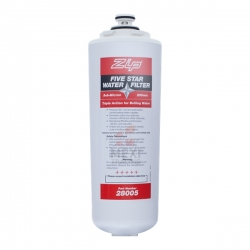 ZIP 28005 Industries Sub Micron Triple Action Water Filter