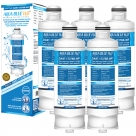 5X Samsung DA97-17376B, DA97-08006C, HAF-QIN/EXP Compatible Replacement Water Filter