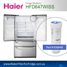 HAIER FRIDGE FILTERS FOR  HFD647WISS