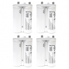 4X Genuine Frigidaire PureSource2 Fridge Water Filter 240396407K, FC-100, WF2CB
