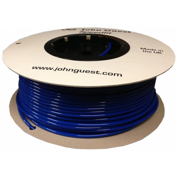 "John Guest 3/8"" Hose Tubing High Pressure Blue 152 Metres (Roll)"