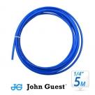 "John Guest 1/4"" Tubing High Pressure Blue 5 Metre"