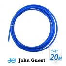 "John Guest 1/4"" Tubing High Pressure Blue 20 Metre"
