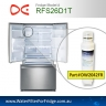 Daewoo /Smeg DW2042FR-09 Replacement Fridge Filter Cartridge