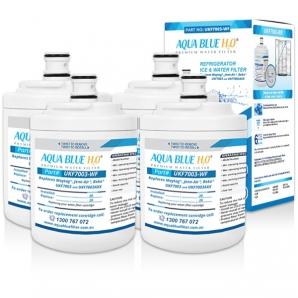 4x Maytag Fridge Filter UKF7003AXX Replacement Aqua Blue UKF7003AWF