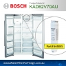 740560  9000-077104 FRIDGE MODEL NUMBER K3990 UltraClarity Fridge Filter for Bosch