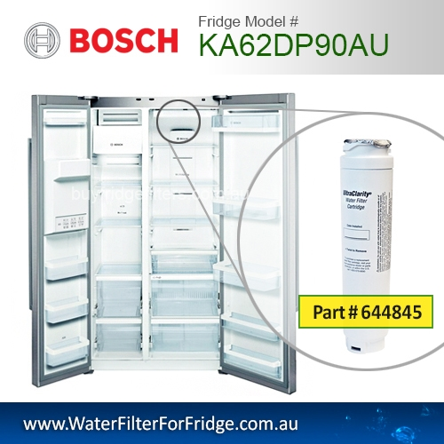 KA62DP90AU 740560 9000-077104 Fridge Model Number KAD62V70AU UltraClarity Fridge Filter for Bosch 4th of April