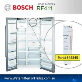 RF411  740560  9000-077104 Fridge Model Number KAD62V70AU  UltraClarity Fridge Filter for Bosch 4th of April
