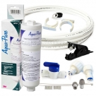 "AP717 Aqua Pure Triple Action Inline Filter with Hose 1/4"" Connection Kit"