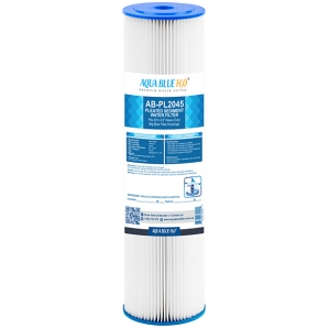 """20"""" x 4.5"""" Whole House Big Blue Pleated Sediment Water Filter Replacement Cartridge for Rain Water Tank or Wholehouse 5MIC"""