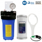 Rain Water Tank Filter system BIG Blue UV residence with Dual Stage PP Sediment Compressed with GAC Filter