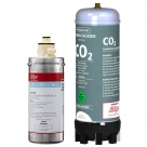 Zip MicroPurity 93702 Commercial Water Filter with Zip 91295 Sparkling Replacement Cartridge