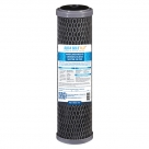 "Silver Carbon Block Filter Cartridge Standard 2.5"" x 10"", 5 Micron"