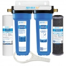 Twin Caravan & RV Water Filter System with Sediment & Silver Carbon Block Filter