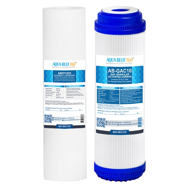 Caravan replacement filter set Sediment with Carbon GAC filters