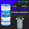 """10""""x4.5"""" Big Blue Single High Flow Housing System with Pleated Sediment Filter"""
