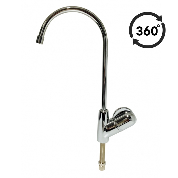 Fin High Loop Water Filter Ceramic Disc Faucet Tap