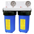 Twin Whole House Rainwater tank Water System with whole Kit