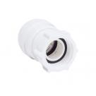 "John Guest Polypropylene Fittings Tap Connector PSE3201W 15mm X 1/2"""