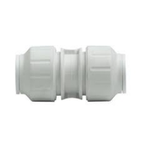 John Guest White Polypropylene Fittings Equal Straight Connector PPM0412W  12MM