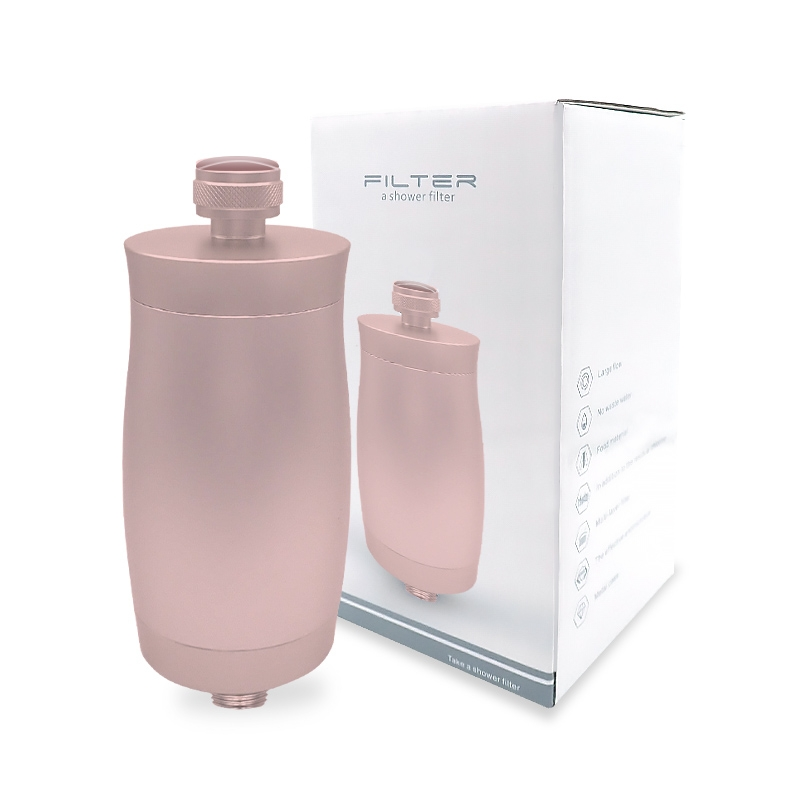 High Output the Best  Shower Filter - AU Standard  fitting Pink