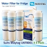 4 X MAYTAG FRIDGE FILTER UKF8001AXX  REPLACEMENT  FILTER  UKF8001AWF
