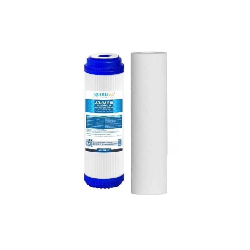 GAC Carbon Water Filter Replacement AB-GAC1025 with Polyspun Sediment Water Filter