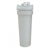 "Water Filter Housing - Polypropylene - 9.75"" - 3/4"" - 1/Pack - 3M"