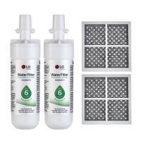 2x LG LT700P( ADQ36006101) with 2x LG LT120F(ADQ73214404) Air filter