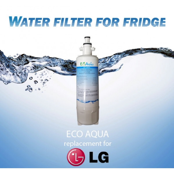 lg refrigerator replacement filter lt700p. eco aqua eff-6032a lg generic replacement fridge water filter lt700p adq36006101 lg refrigerator replacement filter lt700p t