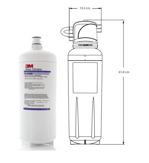 3M P165BN High Flow Triple Stage Softening Water Filter