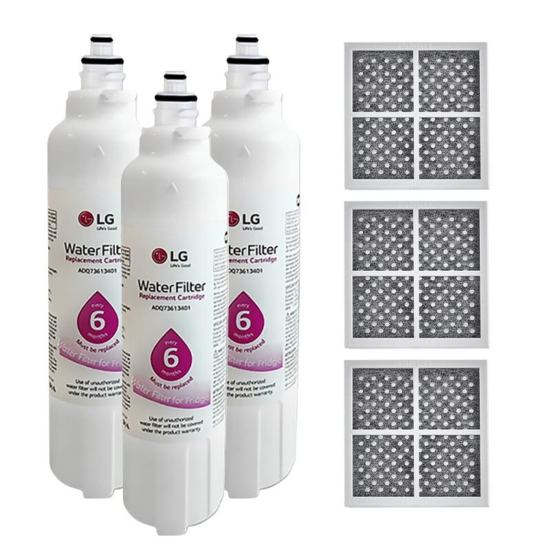 3x LG Fridge Filter Genuine LT800P + 3x LG Air Filter LT120F